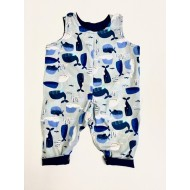 Reversible Dungarees, Whale