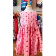 Dress, Pink Flamingo Dress