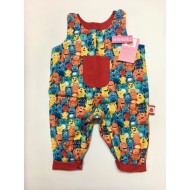 Reversible Dungarees, Monsters