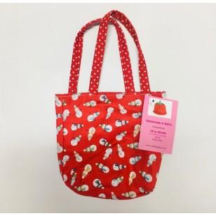 Bag, Red Snowmen