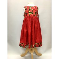 Dress, Poppies and Needlecord