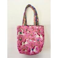 Bag, Pink Unicorns