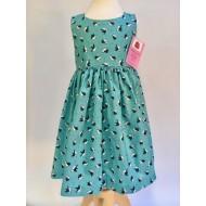 Dress, Green Puffins