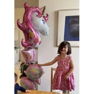 Dress, Pink Unicorns