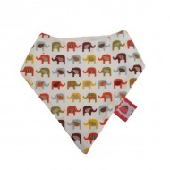 Elephant Dribble Bib