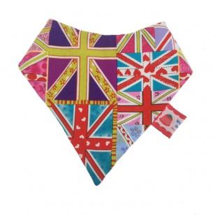UK Flag Dribble Bib