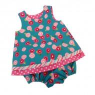 Reversible Dress & Bloomers Set