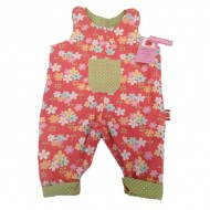 Flower Reversible Dungarees