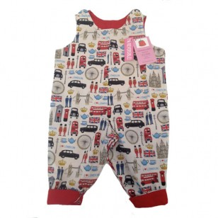 Reversible Dungarees, london