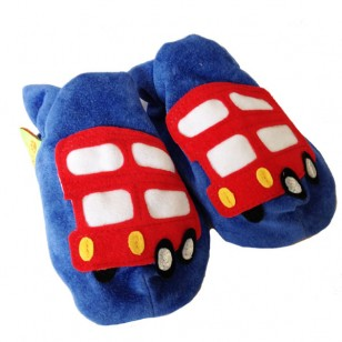 London Bus Soft Shoes