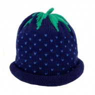 Blue Strawberry Hat