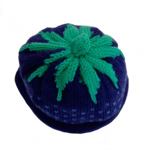 Hat Navy Strawberry