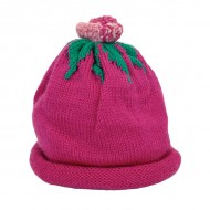 Dark Pink Flower Hat