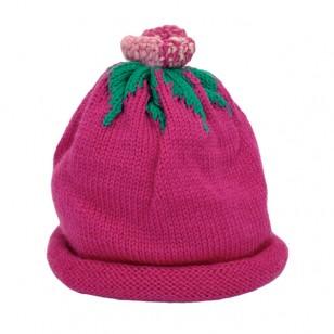 Dark Pink Flower Hat