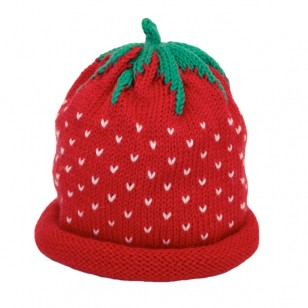 Hat A Red Strawberry