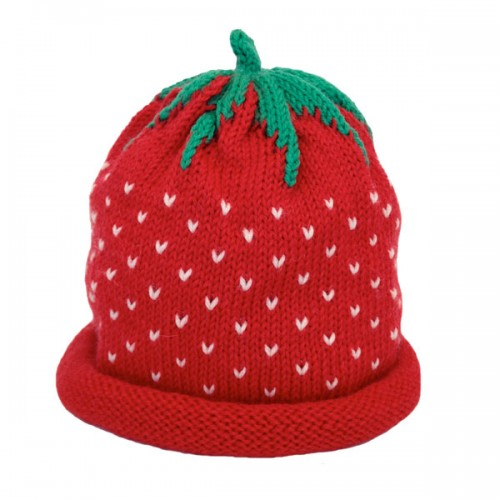 Red Strawberry Hat