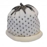 White Strawberry Hat