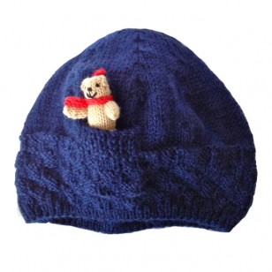 Navy Teddy Hat