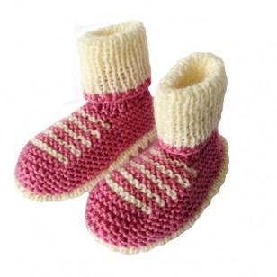 Pink Newborn Knitted Set, 0/6 months