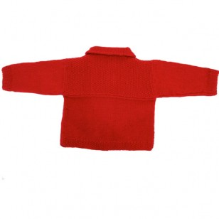 Knitwear, Jacket Red